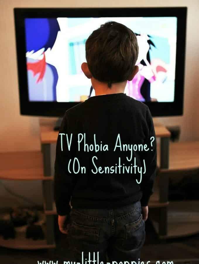 On Sensitivity- TV Phobia Anyone?