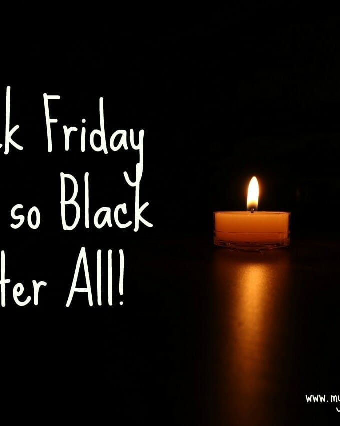 Black Friday isn't so black after all