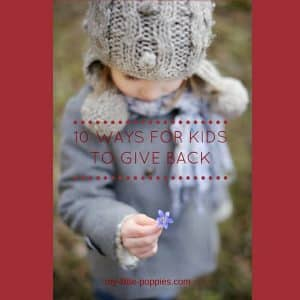 10 Ways for Kids to Give Back During the Holidays and ALWAYS (A post by Leo, age 6)