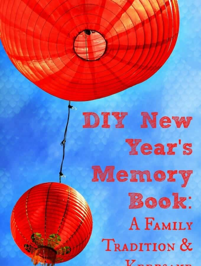 DIY New Year Memory Book: A Family Tradition & Keepsake