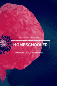Evolution of a First Year Homeschooler