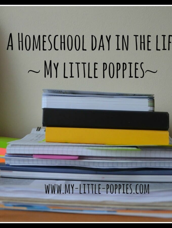 A Homeschool Day in the Life 2015: A Look Back