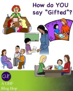 How do you say gifted