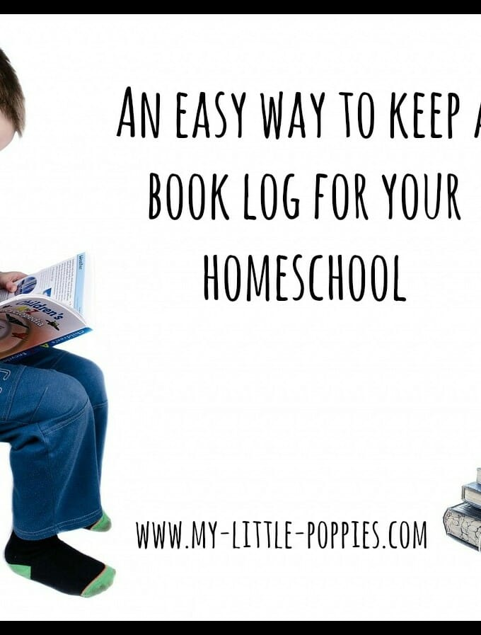 An Easy Way To Keep A Book Log For Your Homeschool