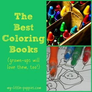 The Best Coloring Books