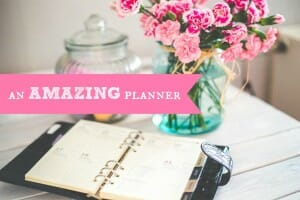 an amazing planner