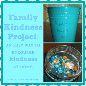 Family Kindness Project {Have You Filled A Bucket Today}, Family Kindness Project {Have You Filled A Bucket Today?}