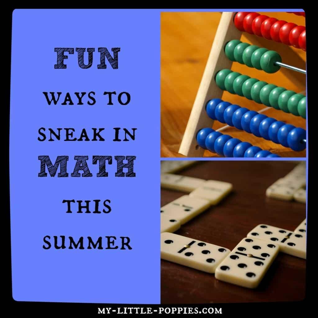 Fun Math Resources, math, mathematics, homeschool, homeschooling, math books, learning, learning through play, 10+ Amazing Math Games for Your Homeschool My Little Poppies, educational games, homeschool, homeschooling, math facts, practice math, play,