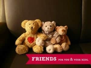 friends for you and the kids