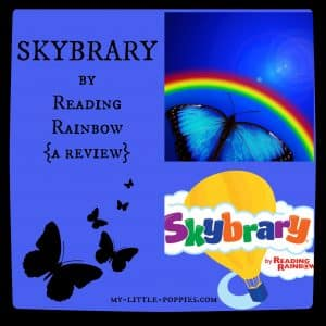 SKYBRARY by Reading Rainbow {a review and giveaway}