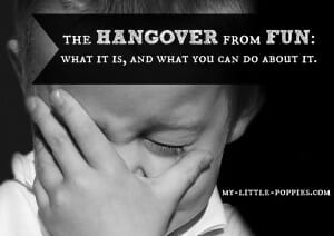 the hangover from fun, How to Homeschool on Your Vacation