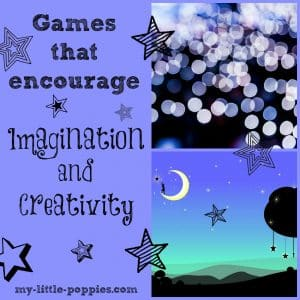 Games that encourage imagination and creativity