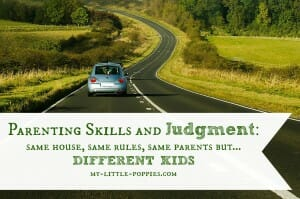 Parenting Skills and Judgment