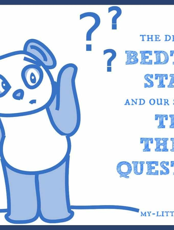 Three Questions {A Simple Solution to the Dreaded Bedtime Stall}