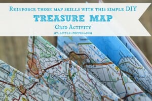 Treasure Map Grid Activity