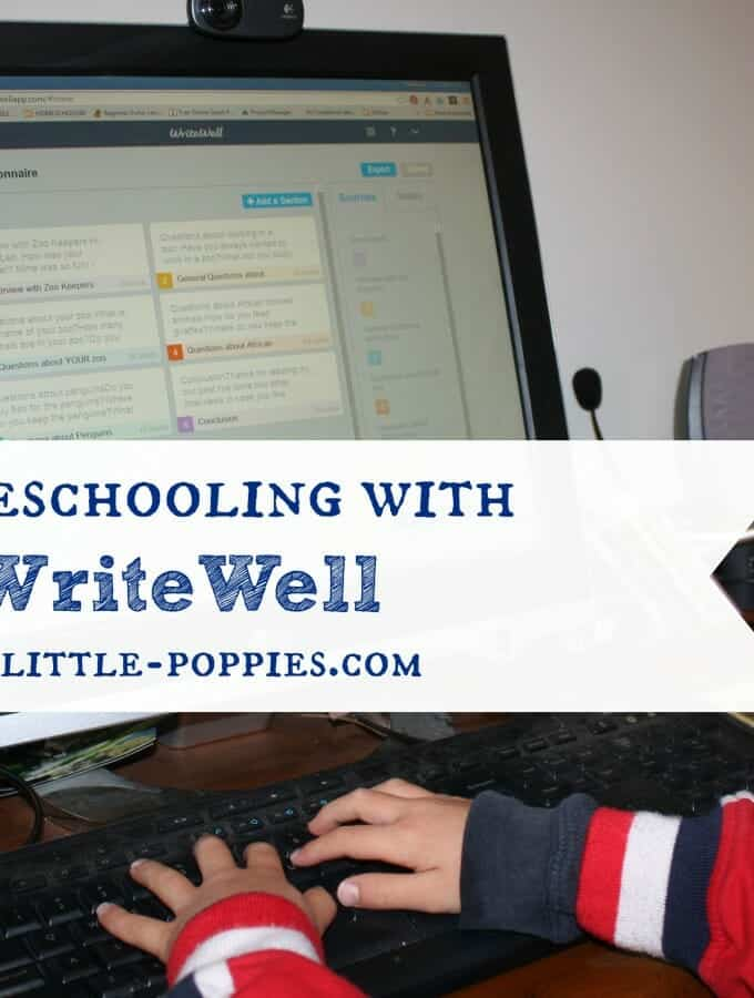 Homeschooling with WriteWell