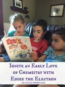 Ignite an Early Love of Chemistry with Eddie the Electron