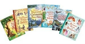 Usborne, illustrated classics, homeschool, abridged classics, books, kids, literature for kids