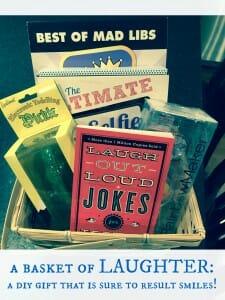 gift, gift basket, present, cheer up, encouragement