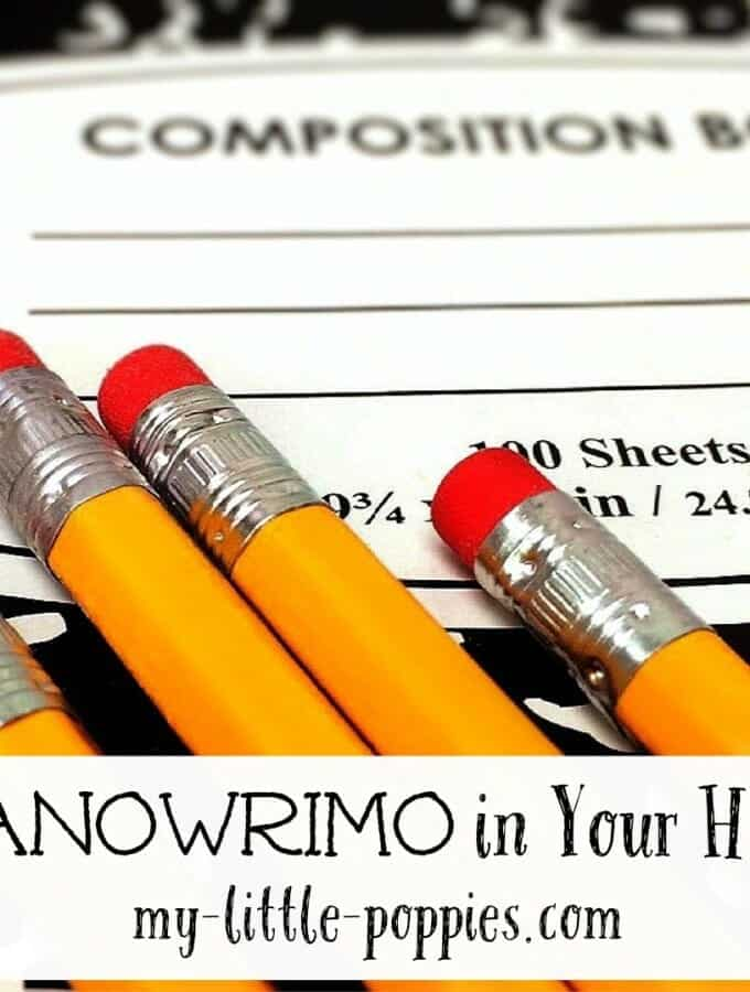 NaNoWriMo in Your Homeschool