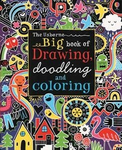 The Usbrone BIG book of Drawing, Doodling, and Coloring