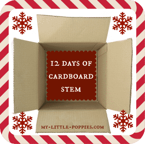 STEM, STEAM, cardboard box, parenting, holidays