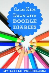 Calm Kids Down with Doodle Diaries, Easy Outdoor Art, 10+ Art Books for Children | My Little Poppies, art study, artists, children's books, art books, homeschool, homeschooling, create, creativity, art class, art course, artist study, unit study, teaching art, art lessons, art appreciation