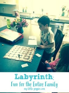 Labyrinth Fun for the Entire Family