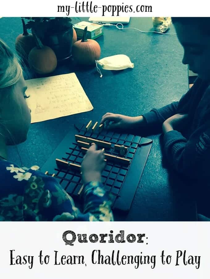 Quoridor: Easy to Learn, Challenging to Play
