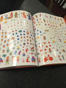 Christmas Sticker Book 4
