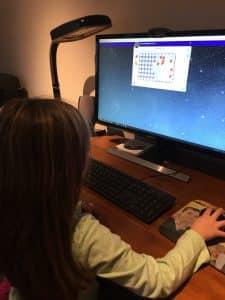 GiftedandTalented.comRedbirdMath8 online math curriculum homeschool digital adaptive technology gifted learner homeschooling self-paced