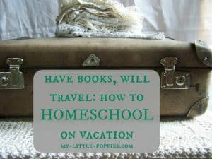 Have Books, Will Travel How to Homeschool on Vacation