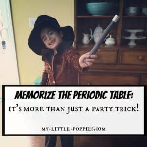 Memorize Periodic Table So Much More than a Party Trick