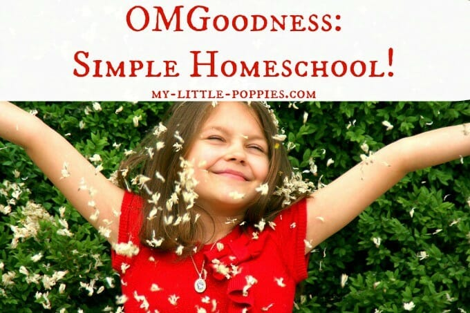 OMGoodness: Simple Homeschool!