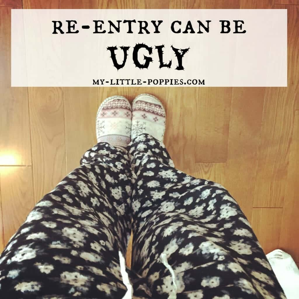 Re-Entry Can Be Ugly