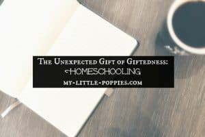 The Unexpected Gift of Giftedness Homeschooling, homeschool, gifted, gifted learners, giftedness,