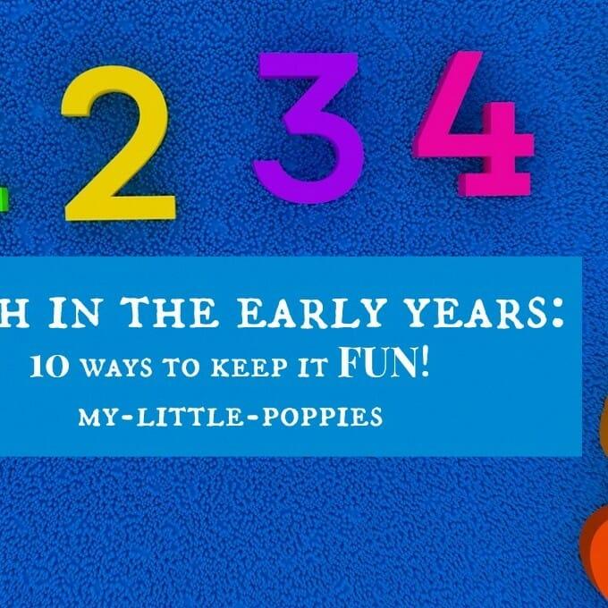 Homeschool Math: 10 Ways to Keep it Fun!