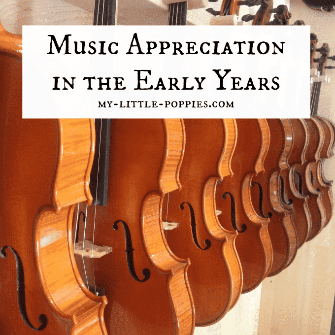 Music Appreciation in the Early Years