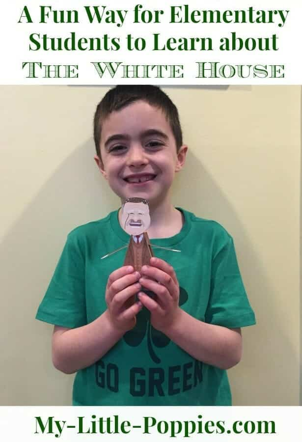 A Fun, Hands-On White House Homeschool Lesson
