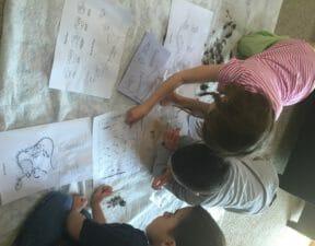 art, nature, science, homeschool, homeschooling