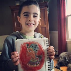 1 atelier homeschool art