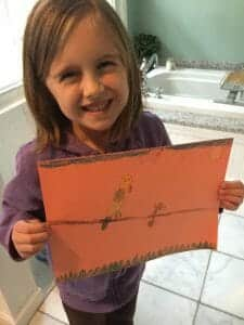 Atelier homeschool art lesson