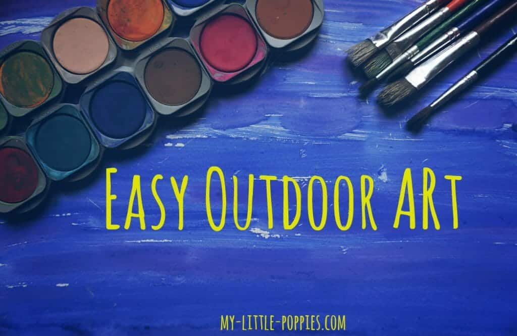 Easy Outdoor Art, 10+ Art Books for Children | My Little Poppies, art study, artists, children's books, art books, homeschool, homeschooling, create, creativity, art class, art course, artist study, unit study, teaching art, art lessons, art appreciation