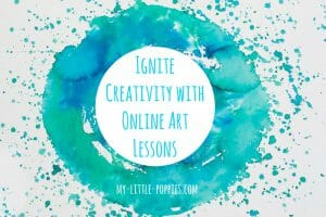 online art lessons, art class, video lessons, art, homeschool, homeschooling, Easy Outdoor Art, 10+ Art Books for Children | My Little Poppies, art study, artists, children's books, art books, homeschool, homeschooling, create, creativity, art class, art course, artist study, unit study, teaching art, art lessons, art appreciation