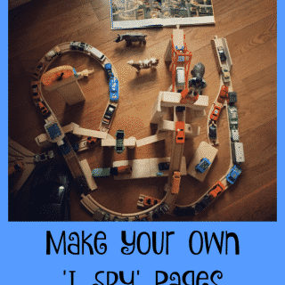 Make Your Own I Spy Pages
