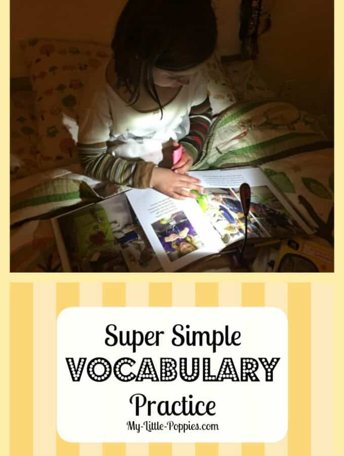Super Simple Vocabulary Practice