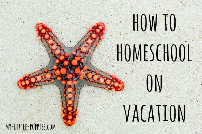 How to Homeschool on Vacation, How to Homeschool on Your Vacation