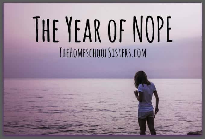 The Year of Nope
