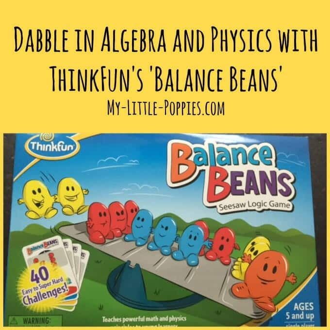 ThinkFun, Balance Beans, Math games, logic game, reasoning game, one-player game