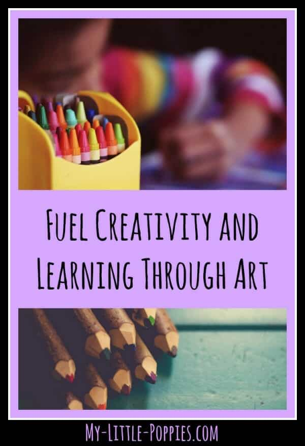 Fuel Creativity and Learning Through Art